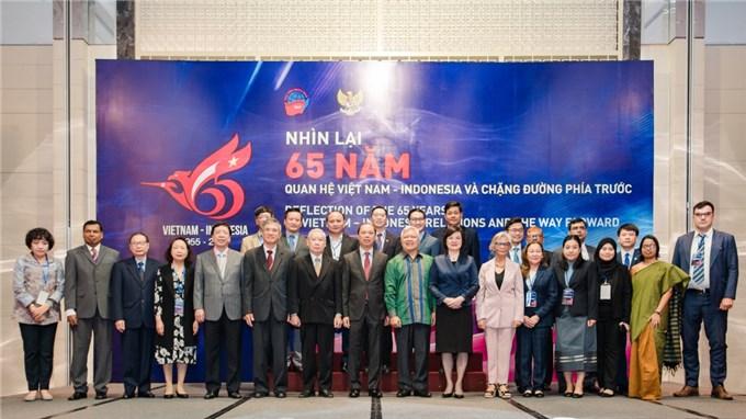 65 năm quan hệ Việt Nam-Indonesia thúc đẩy hòa bình, thịnh vượng khu vực