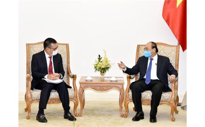 Thủ tướng Nguyễn Xuân Phúc tiếp Chủ tịch Tập đoàn SCG (Thái-lan)