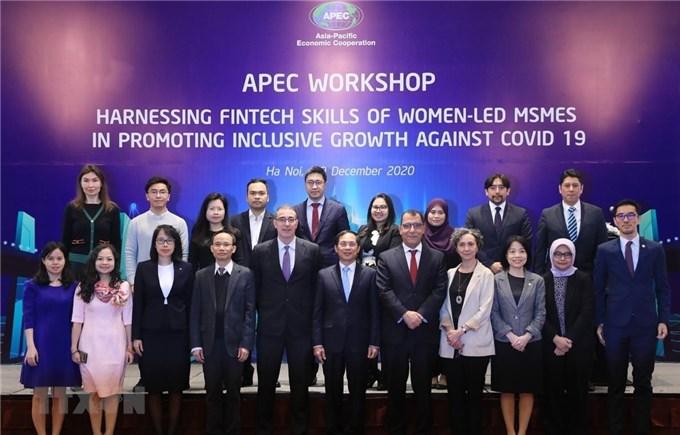 APEC: Phục hồi doanh nghiệp phụ nữ làm chủ thông qua tài chính số