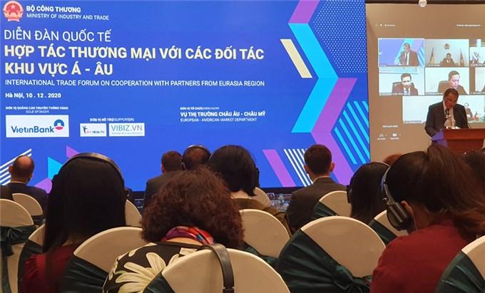Thúc đẩy xuất khẩu hàng Việt sang thị trường Á - Âu