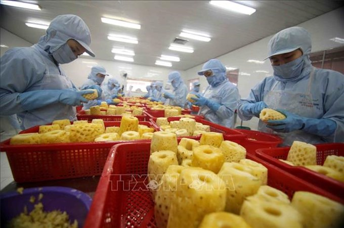 Nông sản Việt rộng đường sang Vương quốc Anh
