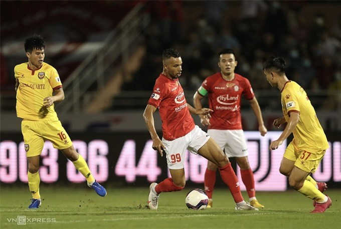 TP HCM thắng trận ra mắt của Lee Nguyễn