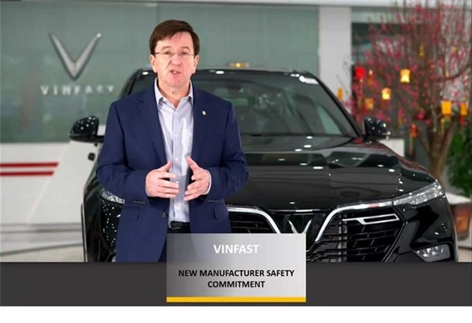 Giải thưởng Hãng xe có cam kết cao về an toàn của ASEAN NCAP được trao cho VinFast