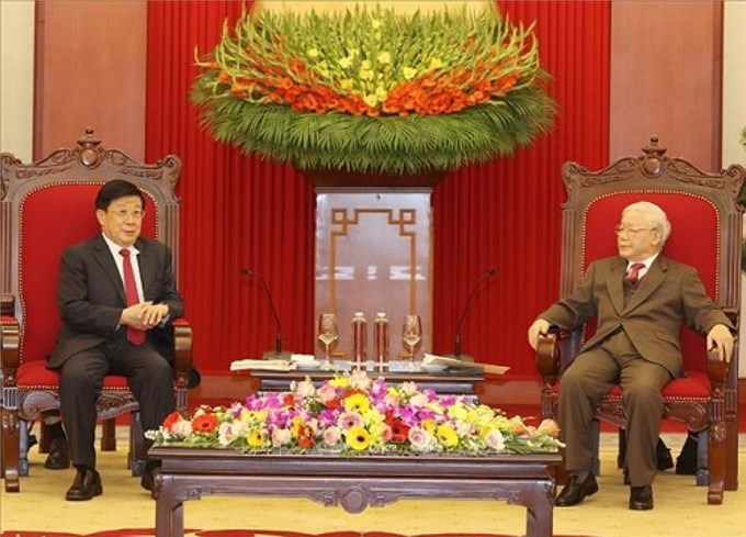 Thúc đẩy quan hệ Việt Nam - Trung Quốc phát triển lành mạnh, ổn định
