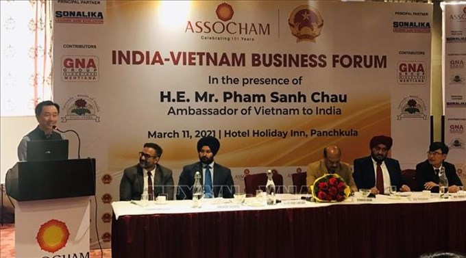Việt Nam - Ấn Độ đẩy mạnh hợp tác đầu tư song phương