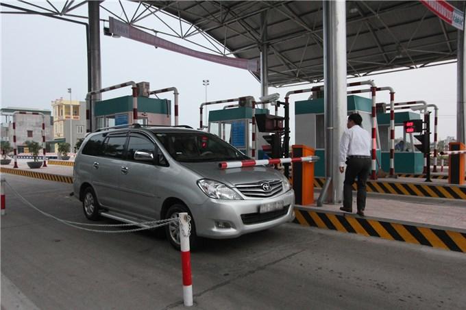 Khẩn trương thu phí không dừng tại trạm thu phí đường Nguyễn Văn Linh
