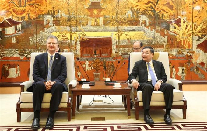 Lan tỏa mối quan hệ giữa Hà Nội với các đối tác Hoa Kỳ