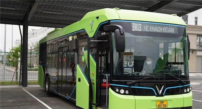 Vinbus lăn bánh - khởi đầu cho cách mạng xe bus điện tại Việt Nam