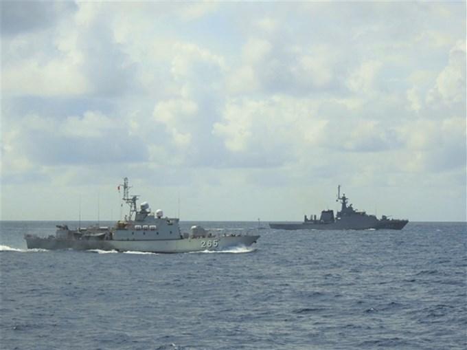 Tuần tra chung góp phần quan trọng giữ vững môi trường hoà bình, ổn định trên vùng biển Tây Nam