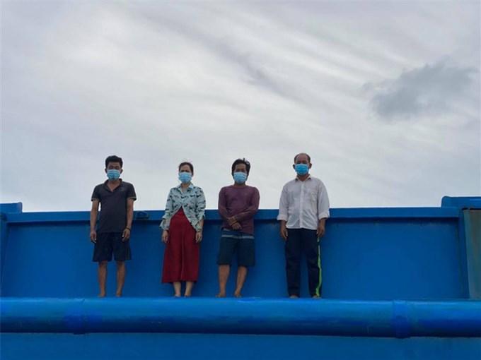 Lại bắt giữ người nhập cảnh trái phép từ Campuchia bằng đường biển