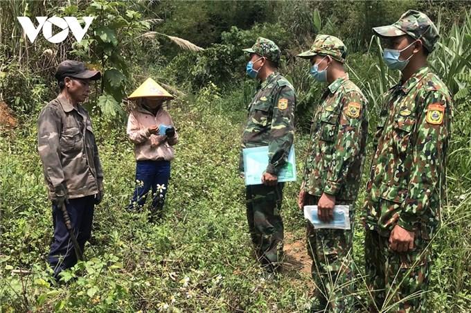 Lực lượng biên phòng Kon Tum tăng cường phòng, chống dịch COVID-19