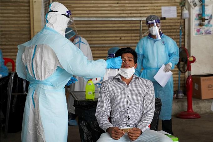 Campuchia có thêm 508 ca COVID-19, Phnom Penh bớt người nhiễm virus
