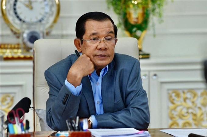 Thủ tướng Campuchia khẳng định sức khỏe bình thường khi đang cách ly