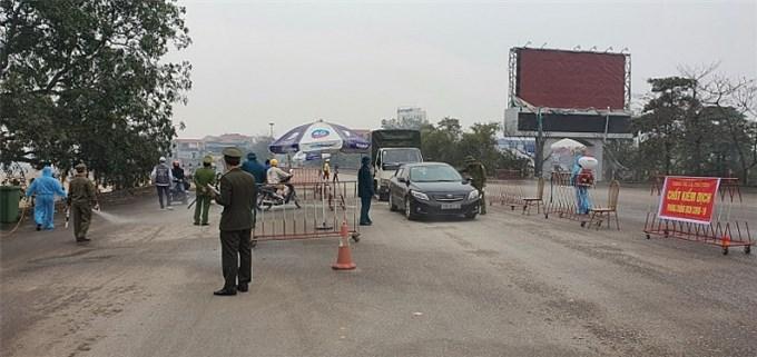 Thái Nguyên: Kích hoạt 28 chốt kiểm soát liên ngành phòng, chống dịch COVID-19