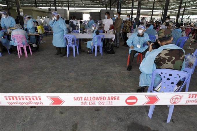 Ngày 3/5, Campuchia ghi nhận 841 ca mắc COVID-19 mới