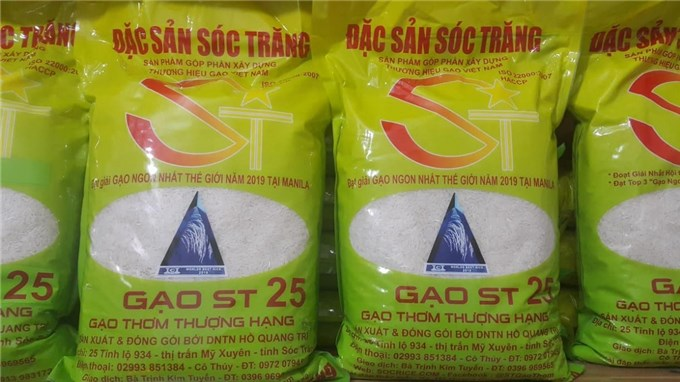 Vietnam moves to protect ST24 and ST25 rice trademarks in US
