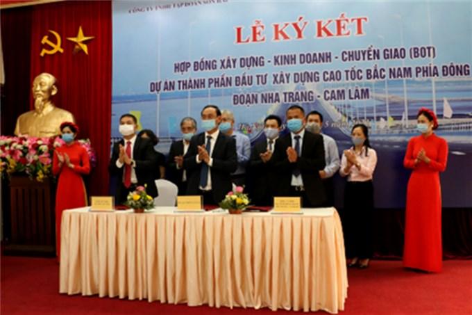 Cao tốc Bắc - Nam đoạn Nha Trang - Cam Lâm được đầu tư theo hình thức PPP
