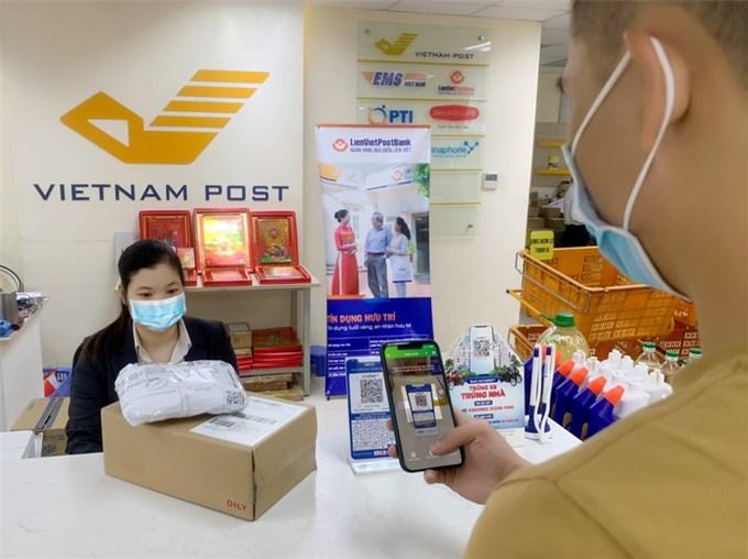 Bưu điện Việt Nam được phép cung cấp dịch vụ trung gian thanh toán