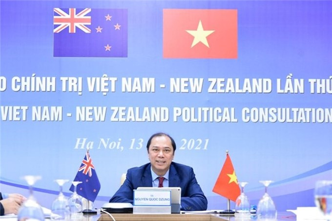Việt Nam - New Zealand nhấn mạnh duy trì hoà bình, ổn định Biển Đông