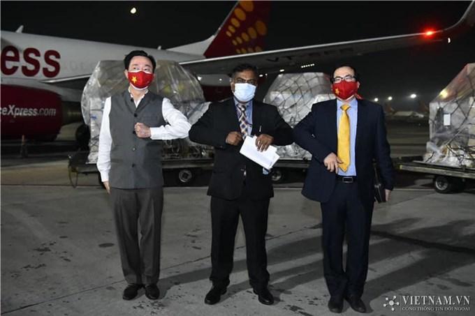 Bộ ngoại giao Ấn Độ cảm ơn Chính phủ và Nhân dân Việt Nam với nghĩa cử cao đẹp