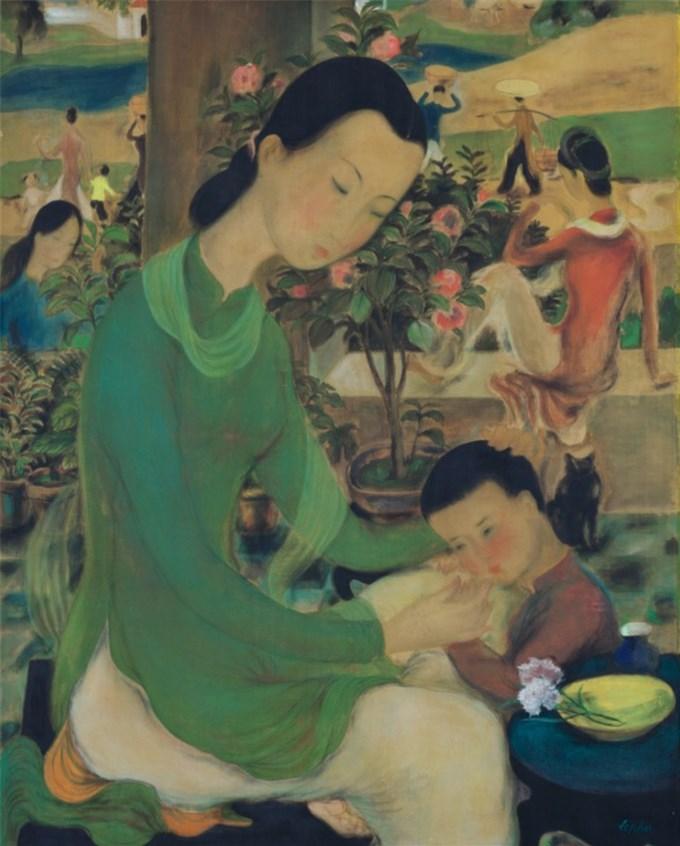 13 siêu phẩm hội họa Việt đắt giá nhất trên thị trường đấu giá quốc tế
