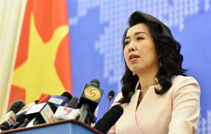 Yêu cầu các bên tôn trọng chủ quyền của Việt Nam với Trường Sa