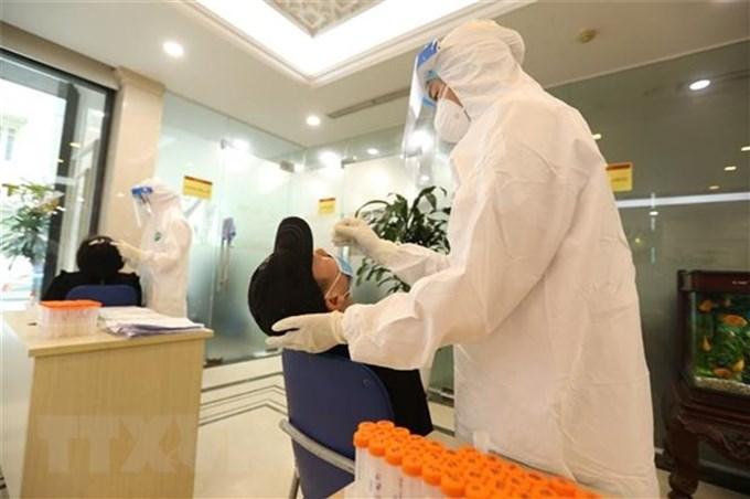 Quảng Ninh xét nghiệm SARS-CoV-2 đối với người về từ TP.HCM