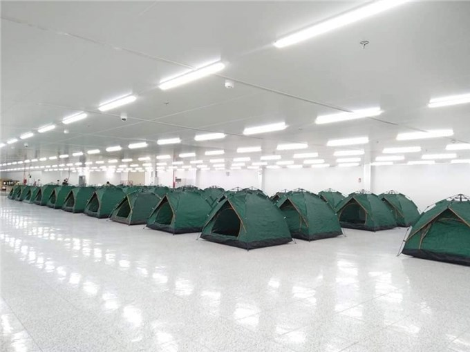 Bac Ninh's factories to set up on-site sleeping arrangements for workers