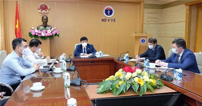 Việt Nam đàm phán mua 20 triệu liều vắc xin SPUTNIK phòng Covid-19 trong năm 2021