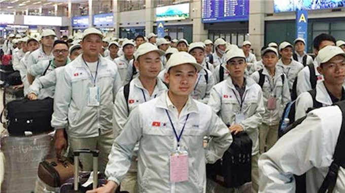 Vietnamese migrant workers fall sharply amid COVID-19 pandemic