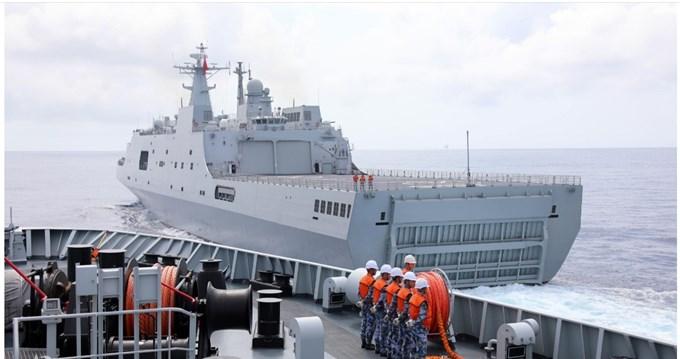 Trung Quốc tập trận ở vịnh Bắc bộ