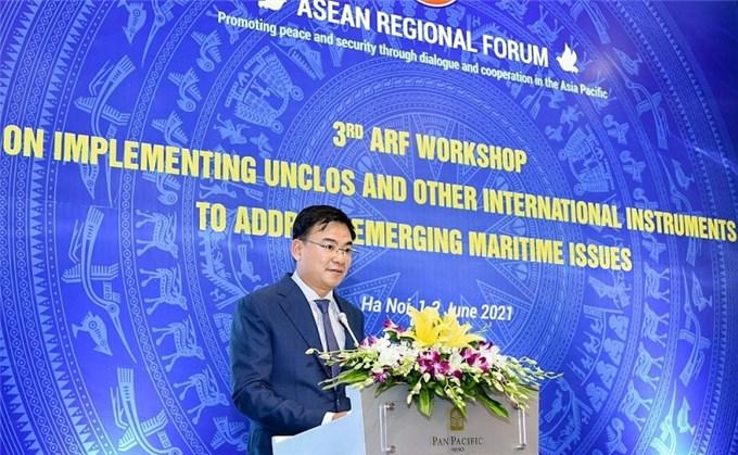 Diễn đàn khu vực ASEAN (ARF) đề cao thực thi 'Hiến pháp' của đại dương