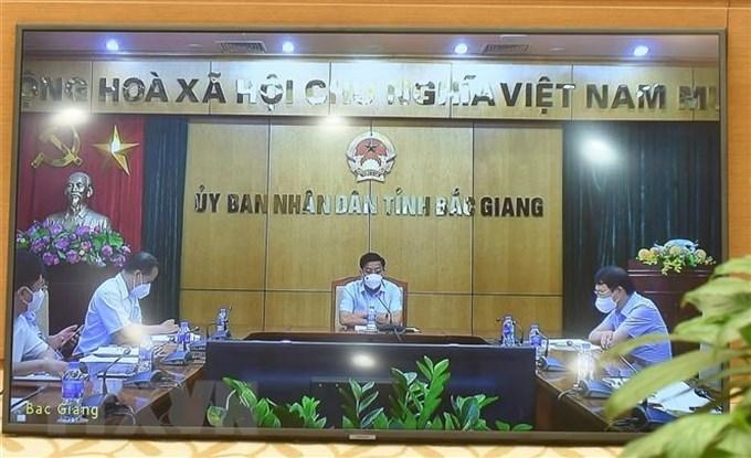 Bắc Giang phấn đấu 10-14 ngày nữa sẽ cơ bản dập xong dịch