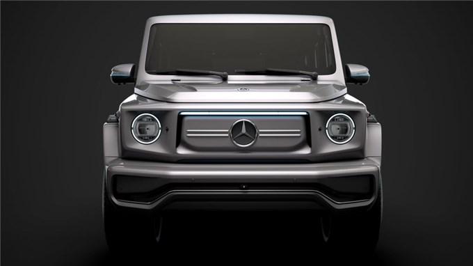 Xem trước phiên bản chạy điện của Mercedes-Benz G-Class, đổi tên thành EQG