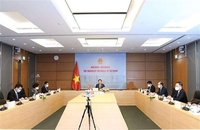 Tăng cường hợp tác giữa Quốc hội Campuchia và Việt Nam
