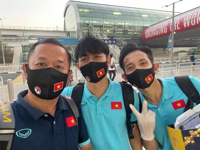 Đội tuyển Việt Nam chia tay UAE, háo hức về nước