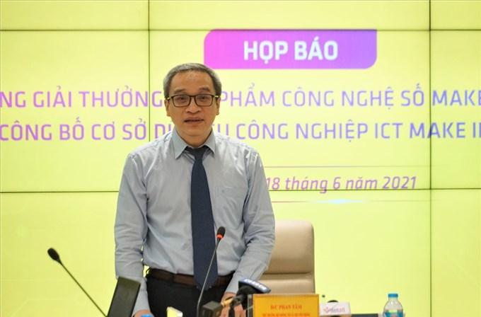 Phát động Giải thưởng Sản phẩm công nghệ số Make in Viet Nam năm 2021