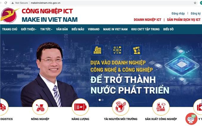 Công bố CSDL công nghiệp ICT Make in Viet Nam