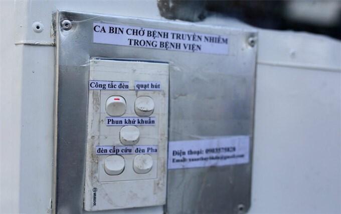 Giảng viên chế tạo cabin chở bệnh nhân Covid-19
