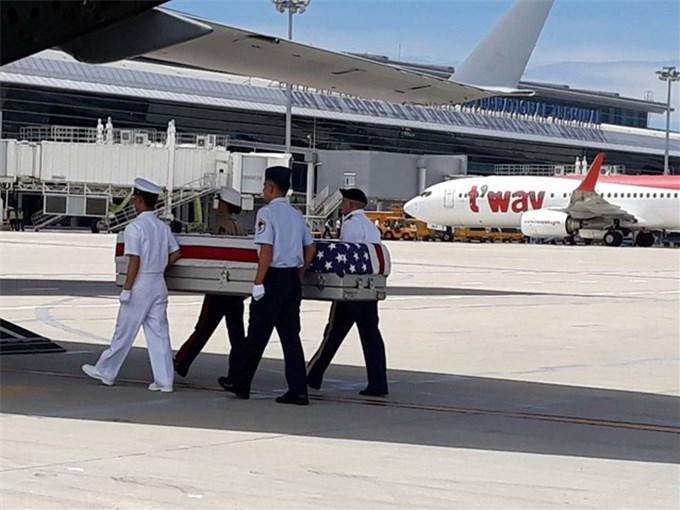 Hoa Kỳ tổ chức lễ hồi hương hài cốt quân nhân lần thứ 155