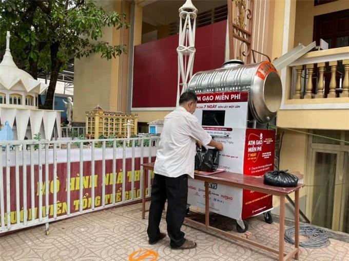 Ứng dụng ATM thông minh phát gạo cho người dân
