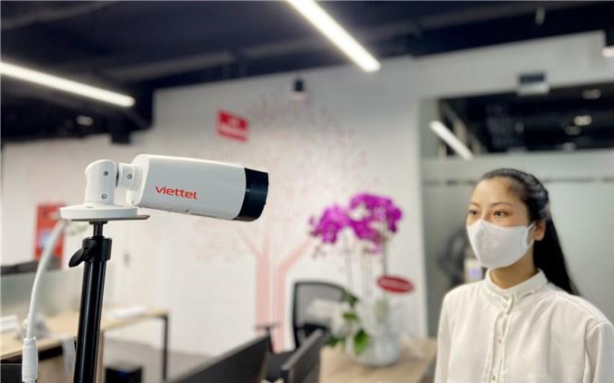 Công nghệ chấm công Viettel AI camera hỗ trợ đảm bảo phòng chống dịch Covid-19