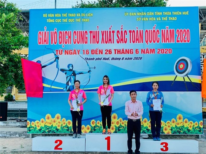 Nhan sắc nữ cung thủ xinh đẹp Việt Nam tham dự Olympic Tokyo