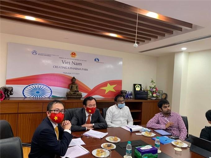 Ấn Độ quan tâm xúc tiến thành lập Khu công nghiệp Dược phẩm tại Việt Nam