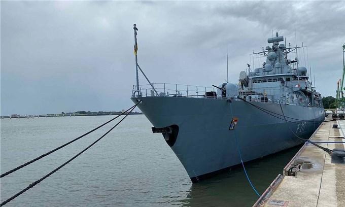 German frigate to visit Vietnam in Asia-Pacific deployment
