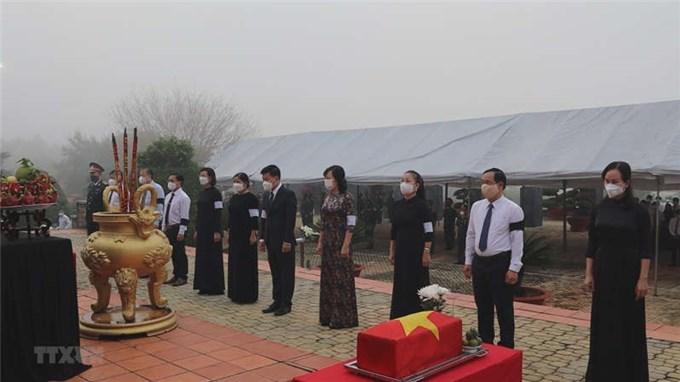 Bình Phước tổ chức truy điệu và an táng 43 hài cốt liệt sỹ tại Campuchia