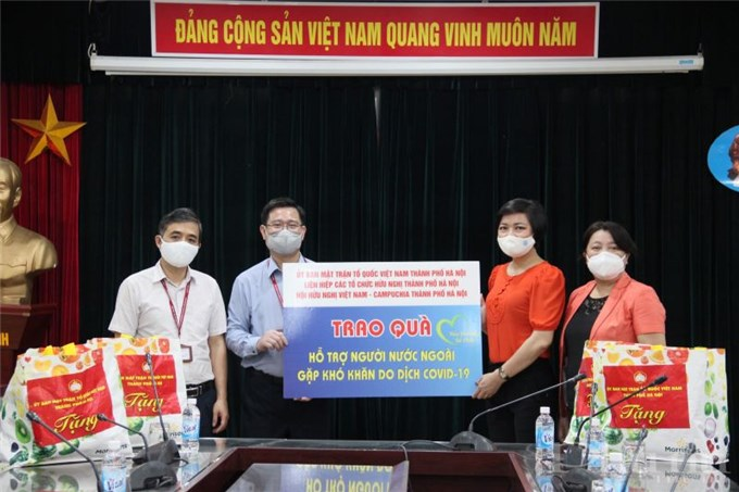 Đồng hành cùng sinh viên Campuchia gặp khó khăn vượt qua mùa dịch