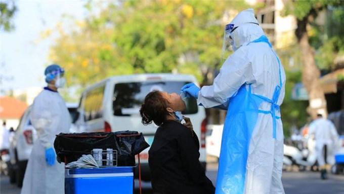 Campuchia ghi nhận số ca nhiễm tăng mạnh trở lại