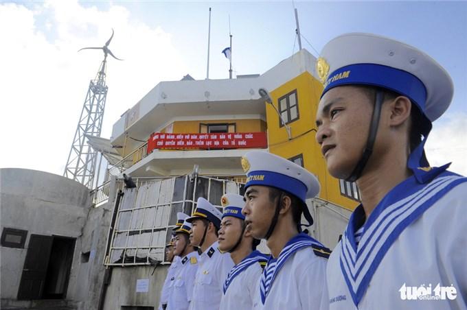 越南长沙群岛解放46周年令人印象深刻的相册