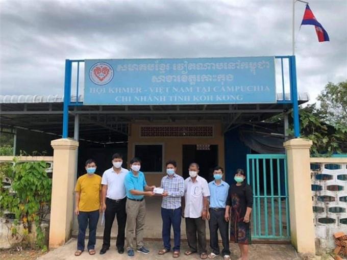Tổng Lãnh sự quán Việt Nam thăm và làm việc với Ban chấp hành Hội Khmer-Việt Nam tỉnh Koh Kong